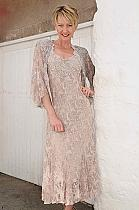The Mother of Bride Dresses with Jackets in Capacineo