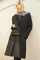 Black pure new wool coat. Was �179 now.....